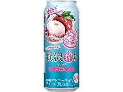 アサヒ 贅沢搾り ライチ 缶500ml