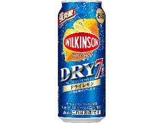 アサヒ ウィルキンソン・ドライセブン ドライレモン 缶500ml