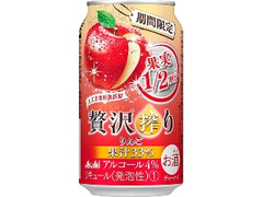 アサヒ 贅沢搾り りんご 缶350ml