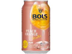 ボルス BOLS Ready To Drink ピーチオレンジ 缶350ml