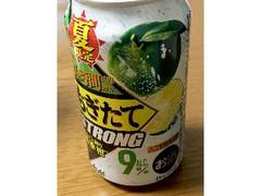 アサヒ もぎたてSTRONG まるごと搾り四季柑 缶350ml