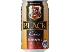 ニッカ ブラックニッカクリア&ウォーター 缶350ml