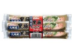 マルハニチロ 九州産黒豚入りあらびきソーセージ 袋50g×3