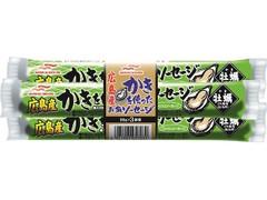 マルハニチロ 広島産かきを使ったお魚ソーセージ 袋50g×3