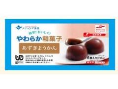 メディケア食品 簡単!おいしく!やわらか和菓子 あずきようかん 22g×6
