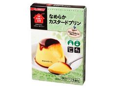 日清 お菓子百科 なめらかカスタードプリン 箱55g
