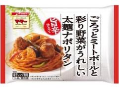 マ・マー ごろっとミートボールと彩り野菜がうれしい太麺ナポリタン 旨辛仕立て 袋290g