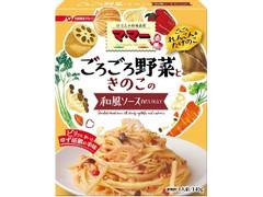 マ・マー ごろごろ野菜ときのこの和風ソース 白だし仕立て 箱140g