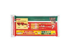 マ・マー 密封チャック付結束 スパゲッティ 1.6mm 袋100g×6