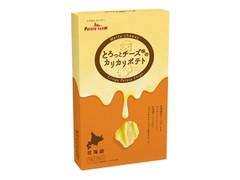 カルビー ポテトファーム とろっとチーズ味のカリカリポテト 箱15g×3