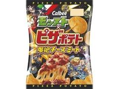 カルビー モンスト×ピザポテト 爆絶チーズミート 袋73g