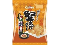 カルビー 堅あげポテト 七味マヨ味 袋60g