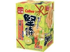 カルビー 堅あげポテト 沖縄シークヮーサー味 箱15g×6