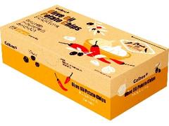 カルビー オリーブオイルチップス ガーリック&チリペッパー味 箱26g×4