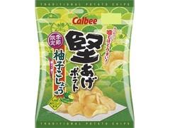 カルビー 堅あげポテト 柚子こしょう味 袋60g