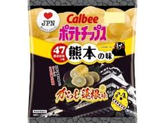 カルビー ポテトチップス からし蓮根味 袋55g