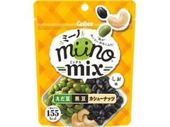 カルビー miino mix えだ豆黒豆カシューナッツしお味 袋27g