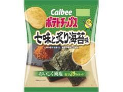 カルビー ポテトチップス 七味と炙り海苔味 袋70g