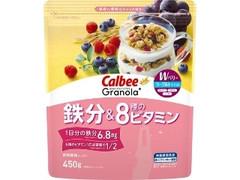 カルビー Granola+ 鉄分&8種のビタミン