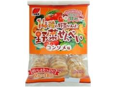 三幸製菓 14種の野菜が入った野菜せんべい 袋2枚×18