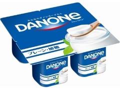 ダノン ダノンヨーグルト プレーン・加糖 カップ75g×4