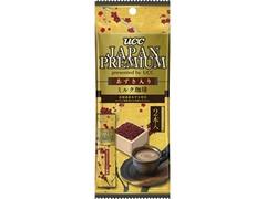 UCC JAPAN PREMIUM あずき入りミルク珈琲 袋2包