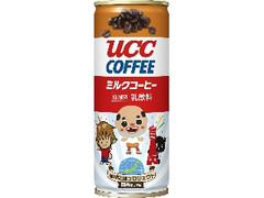 UCC ミルクコーヒー ご当地キャラ缶 缶250g