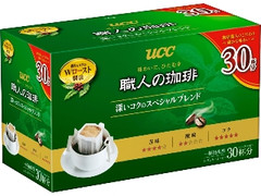 UCC 職人の珈琲 ドリップコーヒー 深いコクのスペシャルブレンド 箱7g×30