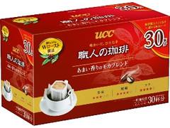 UCC 職人の珈琲 ドリップコーヒー あまい香りのモカブレンド 箱7g×30