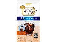 UCC おいしいカフェインレスコーヒー コーヒーバッグ 水出しアイスコーヒー 袋35g×4