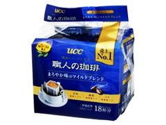 UCC 職人の珈琲 まろやか味のマイルドブレンド 袋7g×18