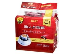 UCC 職人の珈琲 あまい香りのモカブレンド 袋7g×18