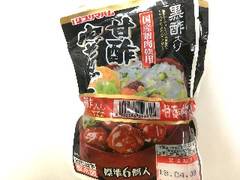 プリマハム 黒酢入り 甘酢肉だんご 袋67g×3