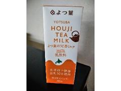 よつ葉 ほうじ茶ミルク パック200ml