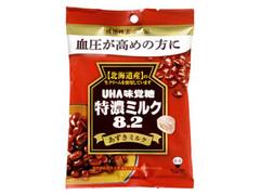 UHA味覚糖 特濃ミルク8.2 あずきミルク 袋93g