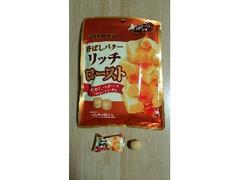 UHA味覚糖 香ばしバター リッチロースト 袋80g