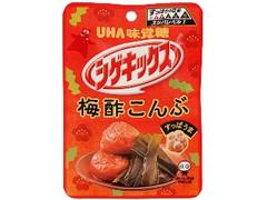 UHA味覚糖 シゲキックス 梅酢こんぶ 袋20g