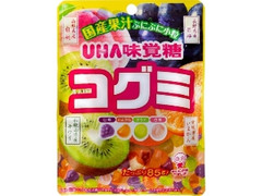 UHA味覚糖 コグミ 国産果汁 袋85g