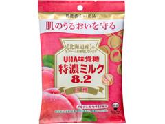UHA味覚糖 特濃ミルク8.2 白桃