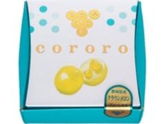 UHA味覚糖 cororo クラウンメロン 箱2粒×4
