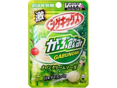 UHA味覚糖 激シゲキックス がぶ飲みメロンクリームソーダ 袋20g