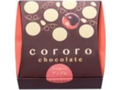 UHA味覚糖 cororo チョコレートアップル 箱1粒×6