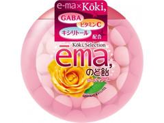 UHA味覚糖 e‐maのど飴 ローズマンゴー