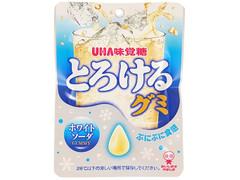 UHA味覚糖 とろけるグミホワイトソーダ