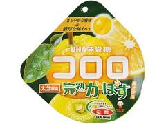 UHA味覚糖 コロロ 完熟かぼす 袋40g