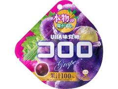 UHA味覚糖 コロロ グレープ 袋48g