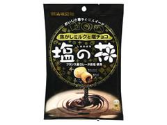 UHA味覚糖 塩の花 焦がしミルクと塩チョコ 袋85g