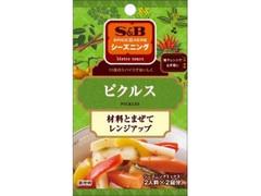 S&B SPICE&HERB シーズニング ピクルス 袋24g