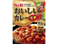 S&B おいしいカレー 大辛 箱180g
