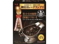 S&B 神田カレーグランプリ 100時間カレーB&R 欧風ビーフカレー お店の中辛 箱180g